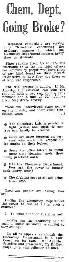 Chem Department WEBSITE
