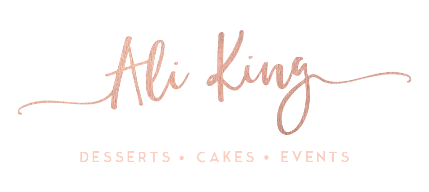 Ali King | Desserts Cakes Events | Canberra