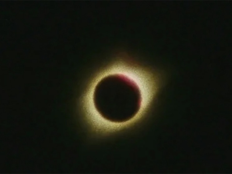 What Lit the Earth     Meganelizabeth Diamond   2017 | 3 minutes | Canada | super 8 | color | sound  a super 8 one take about the eclipse / once upon a time there was love in the light, now there's only love in the dark  -MD