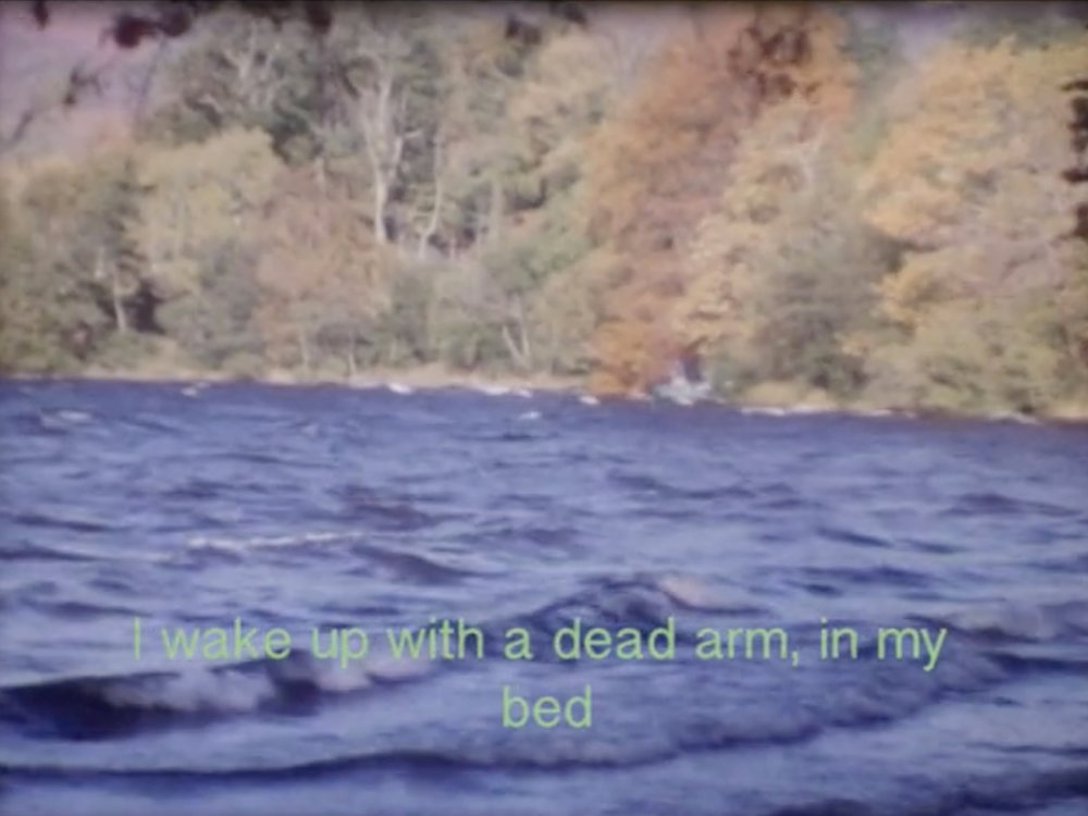 Waking With a Dead Arm     Rob Daglish     2018 | 3 minutes | UK | 16mm | color | sound  A neurological short story told through edited archival film. -RD