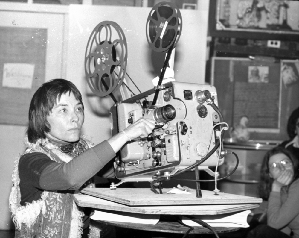Barbara Hammer tribute co-presented with Canyon Cinema    Sunday, March 16, 2019 @ 6pm    The Lab       ▴ Barbara Hammer ▴