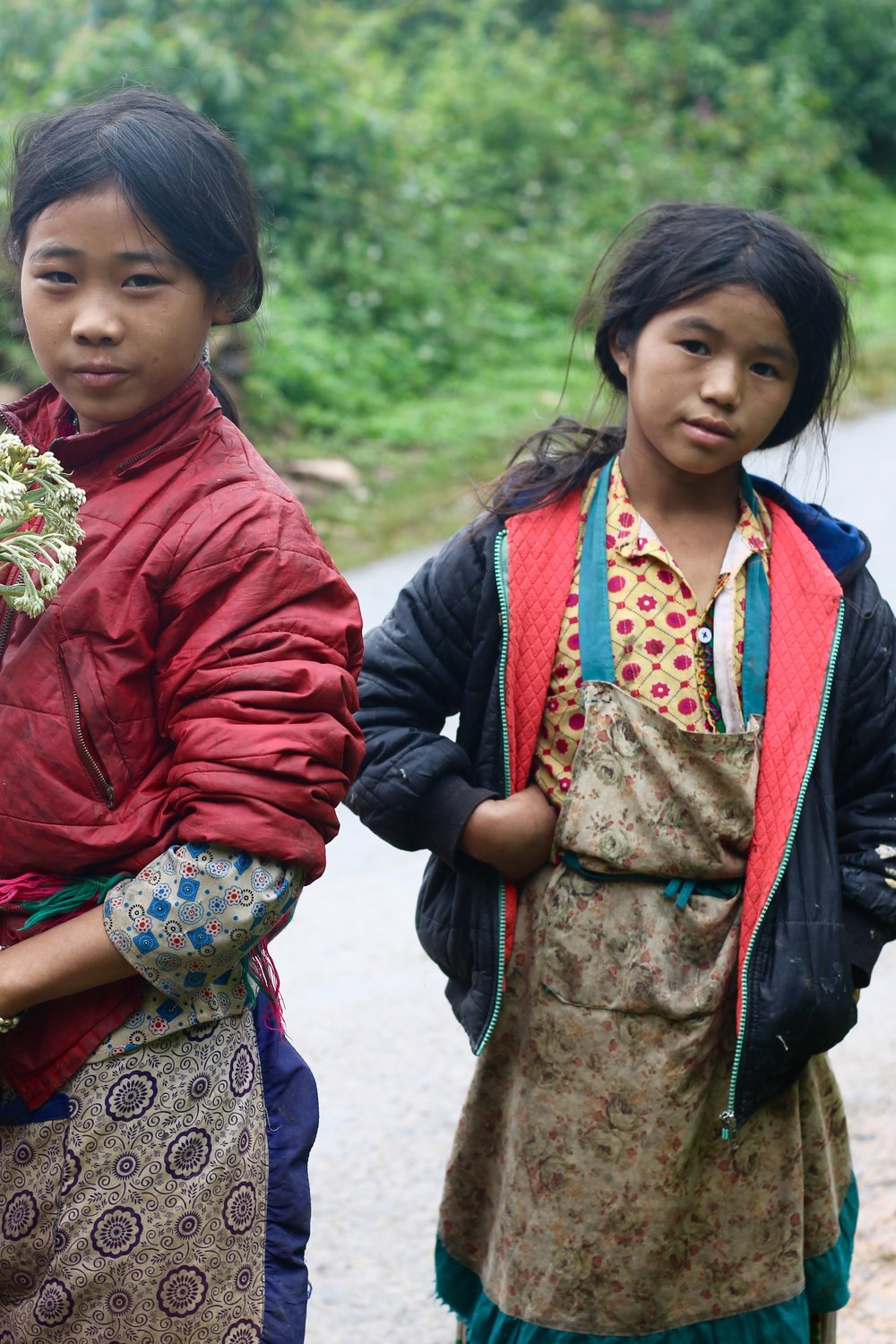 Local girls in the Northern province of Ha Giang, one of my favourite places in the country and home to dozens of ethnic minorities.