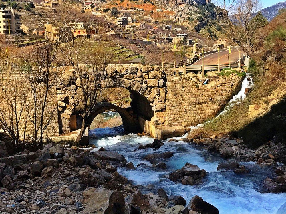Afqa Waterfall