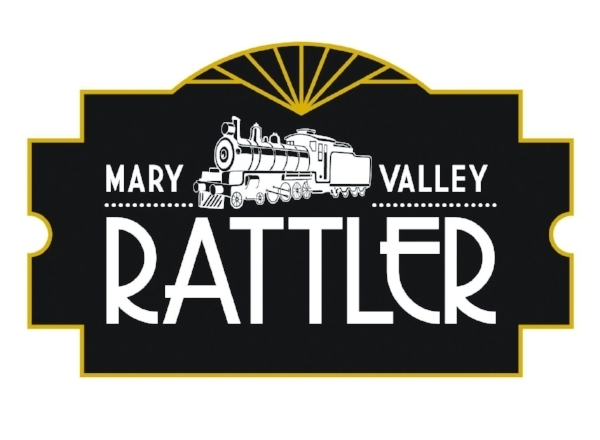 I drew the train design for the Mary Valley Rattler logo design which runs in Gympie in Queensland. Jennifer at Keen design did the typography and ticket stub design.