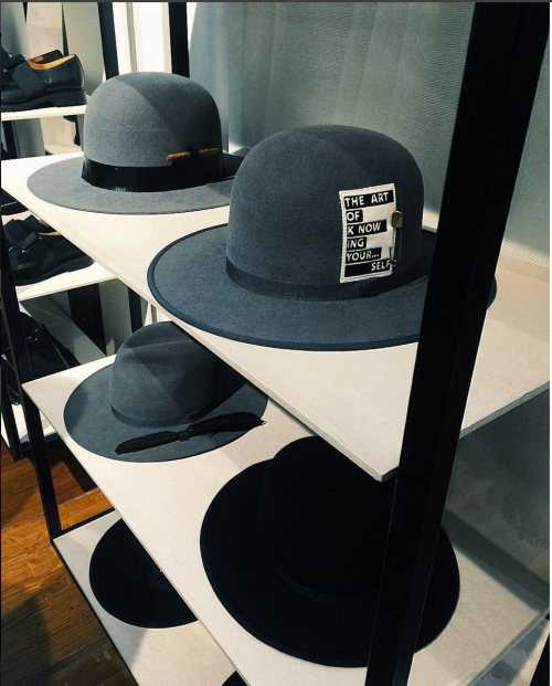 The Art of Knowing Yourself. Some cool hats for the coming season!