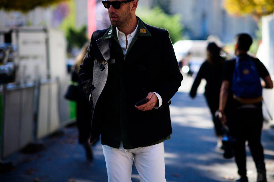 Frederik Lentz Andersen in Paris. Photo by Adam Katz Sinding