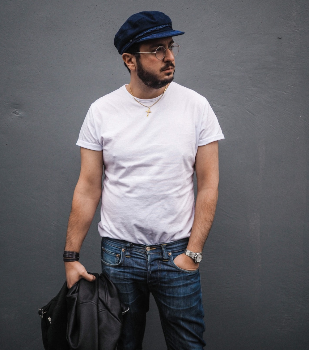 A White Tee is like a Love Affair - Words by Billy George. Photos by Arch Drakos.