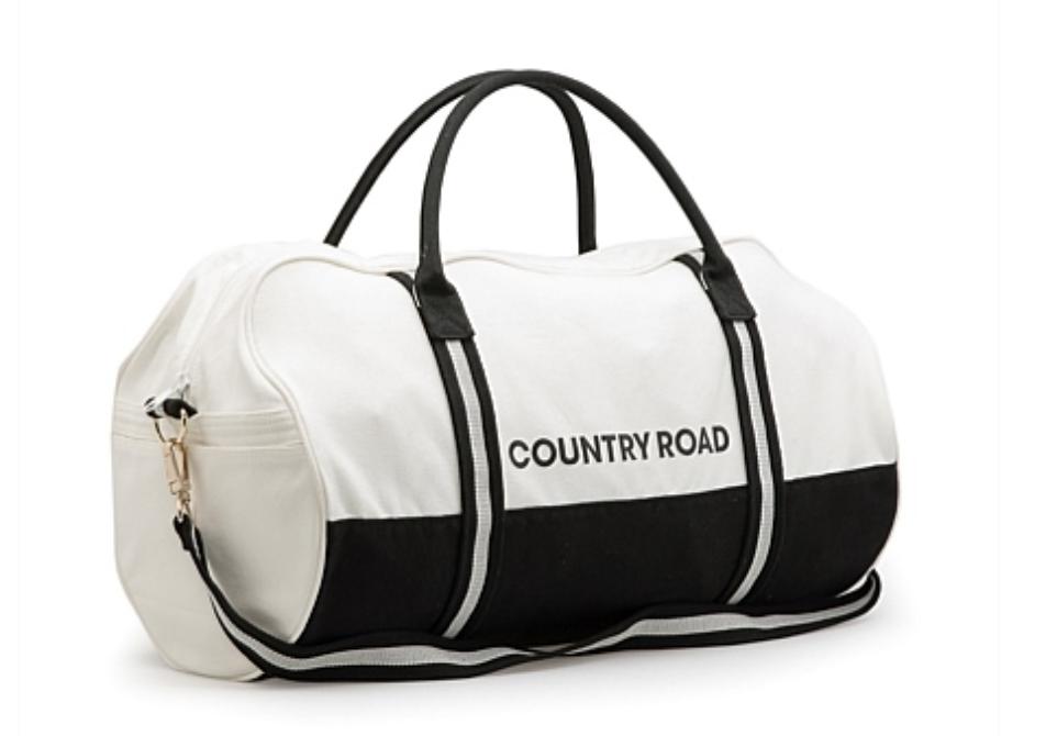 country road duffel bag