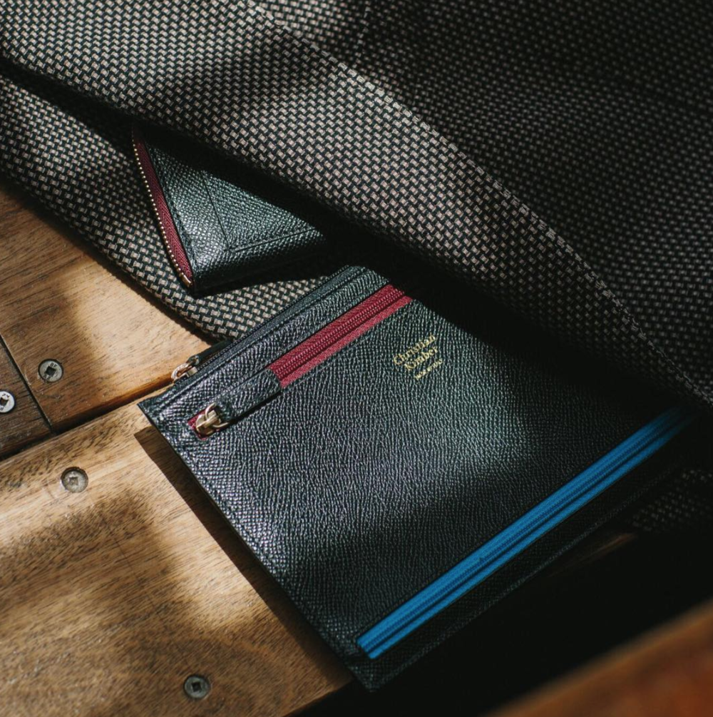 Christian Kimber travel wallet