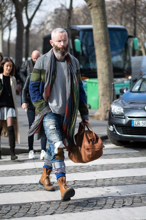 mens street style layers