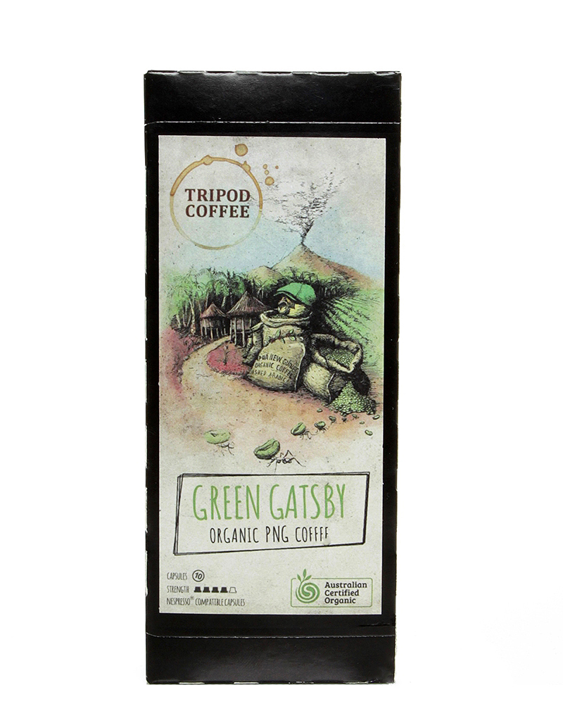 Tripod - Green Gatsby Coffee (10 Pods)