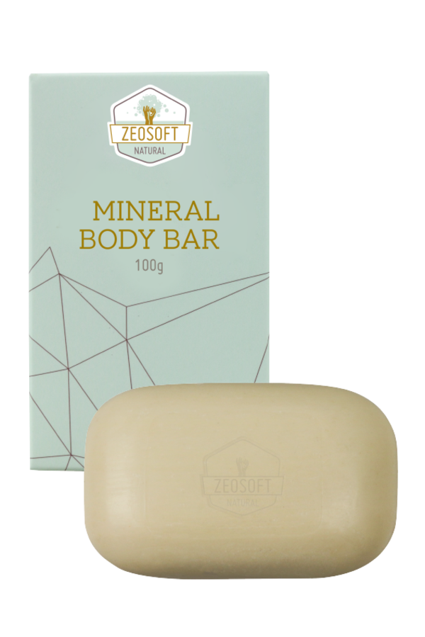 Zeosoft Mineral Body Bar 100g