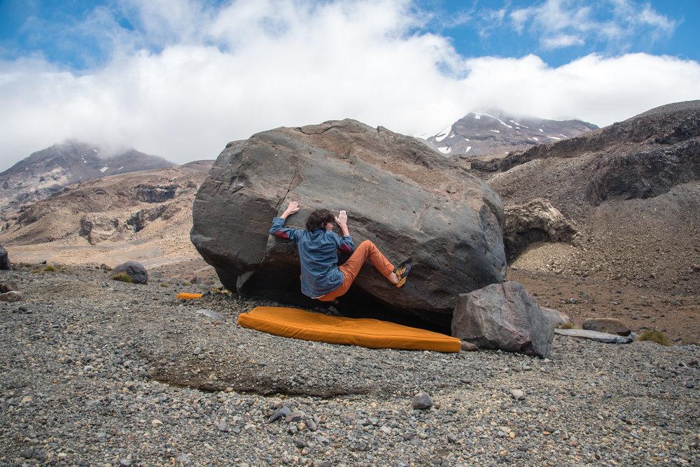 Sleep boulder project, Tukino.