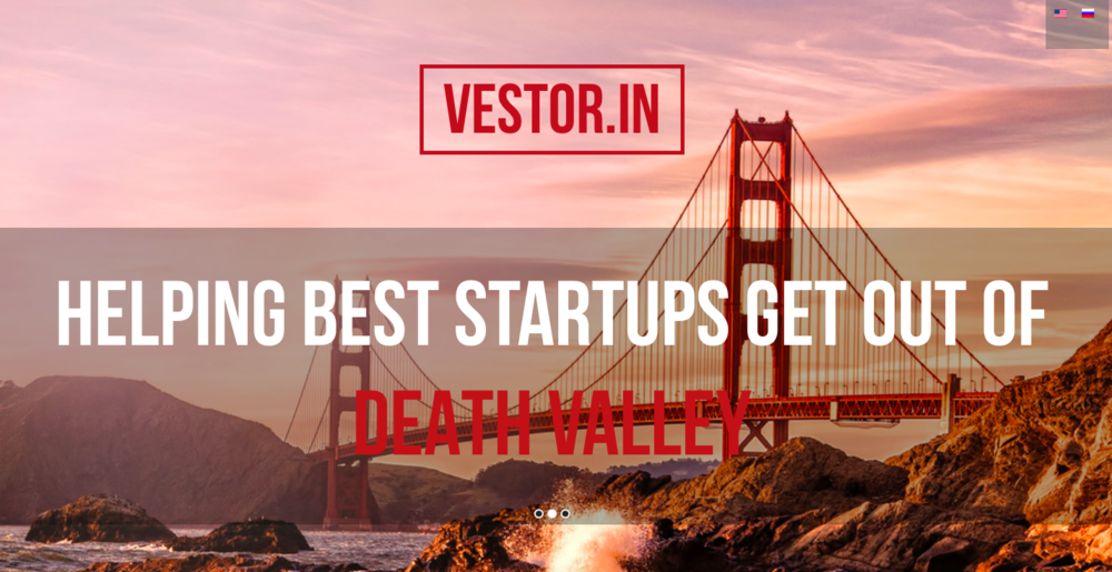 vestor.in  Vestor.In is like many other venture guys, but with creative thinking, sense of humor and hands-on entrepreneurial experience