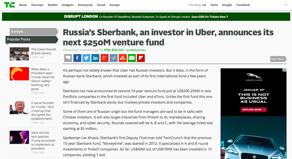 sberbank.ru Sberbank, the largest retail bank in Russia, is transforming itself into a tech company that provides its customers with seamless ways to manage their finances, pay bills and taxes, and access various services.
