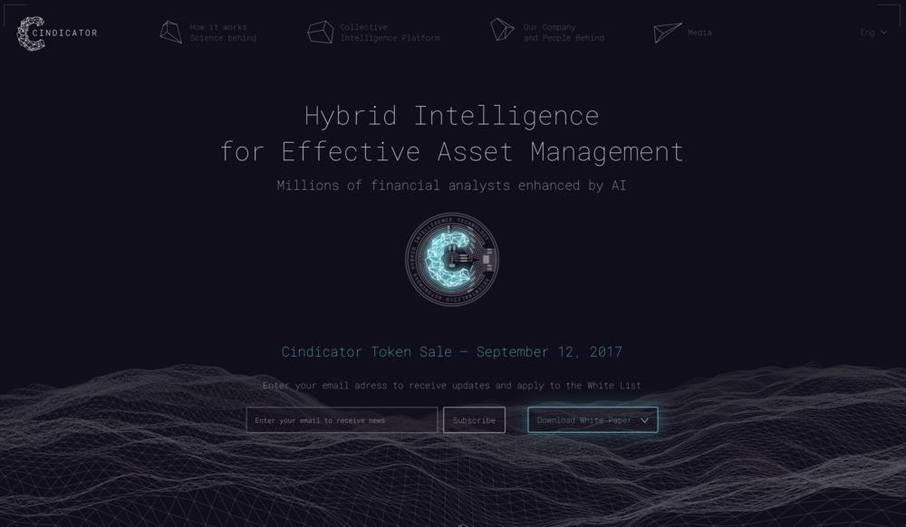 cindicator.com Hybrid intelligence for effective asset management.