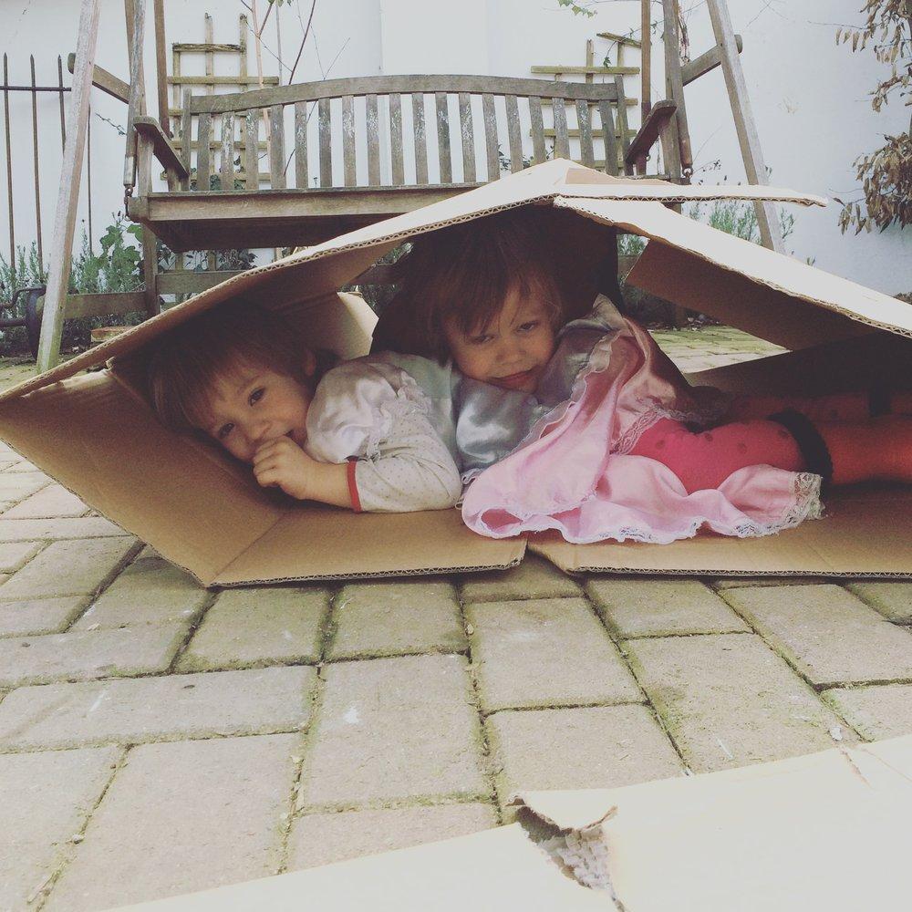 Gotta love an old cardboard box.