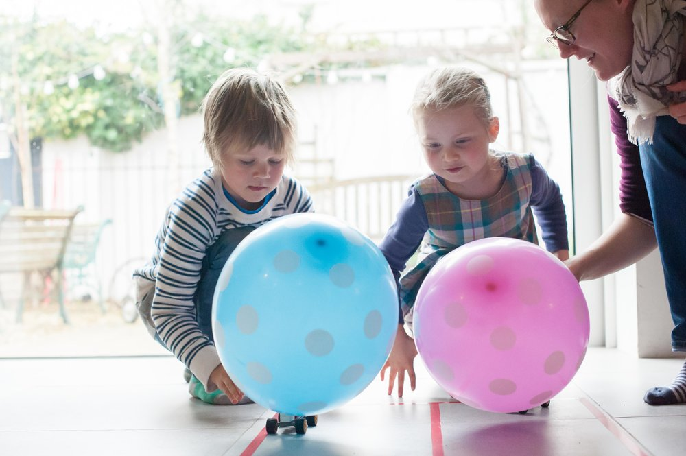 Balloon Lego Cars — HomeGrown Learners