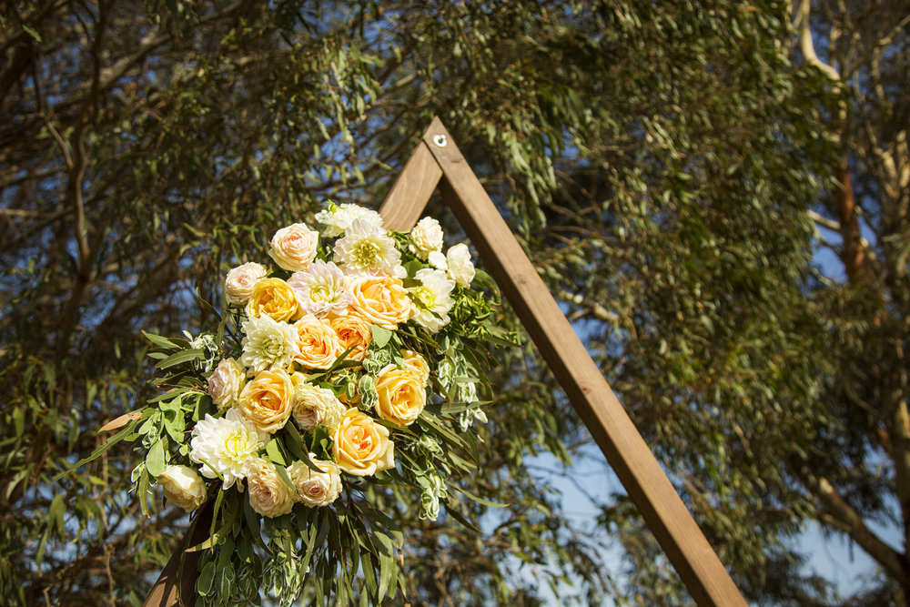 Triangle Wedding Arch Canberra