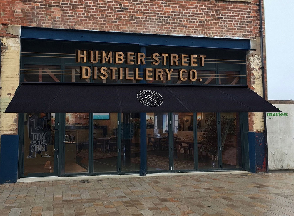 A computer-generated image of Humber Street Distillery Co which will be Yorkshire's first combined gin bar and distillery.
