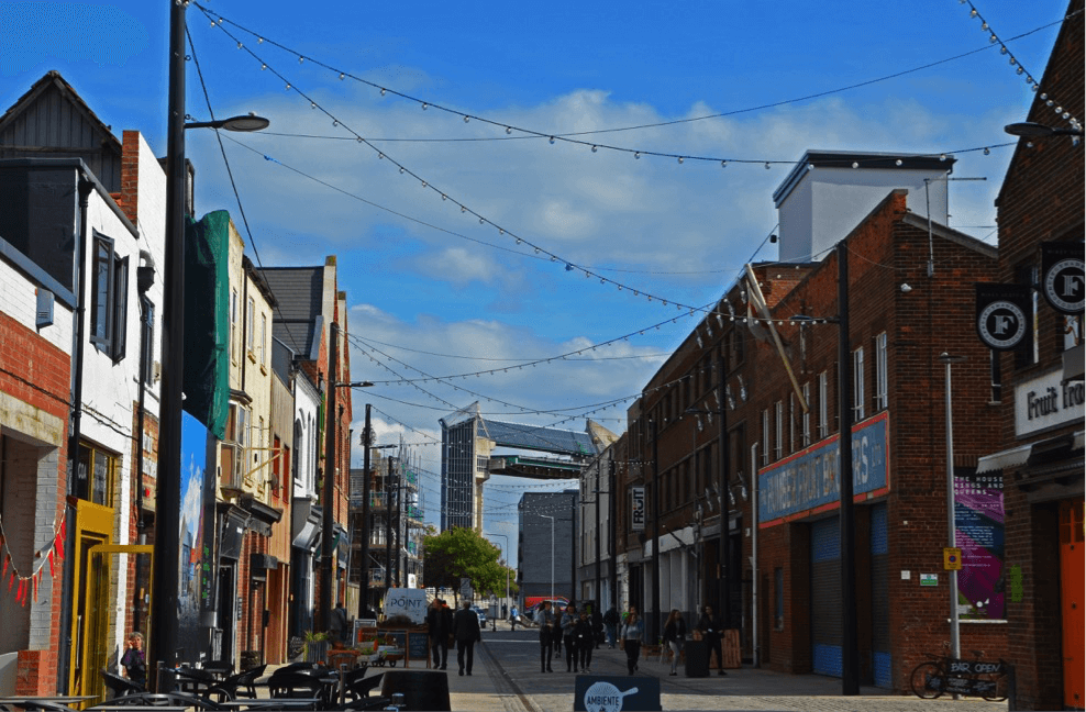 Picture of Humber Street for Urbanism Awards, © The Academy of Urbanism