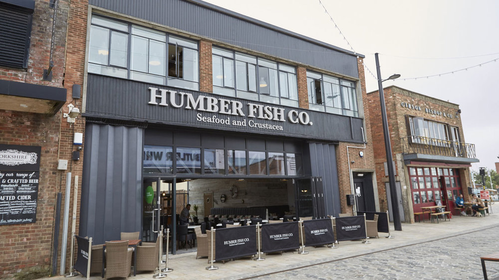 Humber Fish Co is is the latest former fruit and veg warehouse to be converted into an exciting new business as part of the £80m regeneration of the Fruit Market.