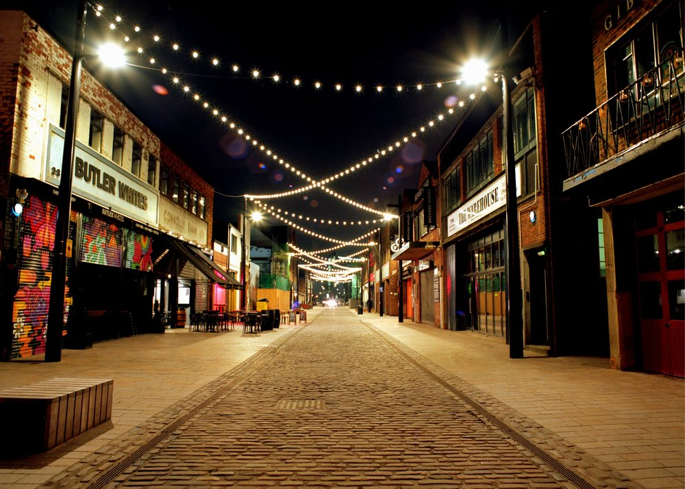 Humber Street in the heart of Hull's Fruit Market, the subject of a shortlisted entry in the Local Government Chronicle (LGC) awards.