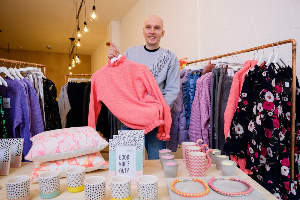 19point4 will offer an eclectic range of menswear, womenswear and homewares.
