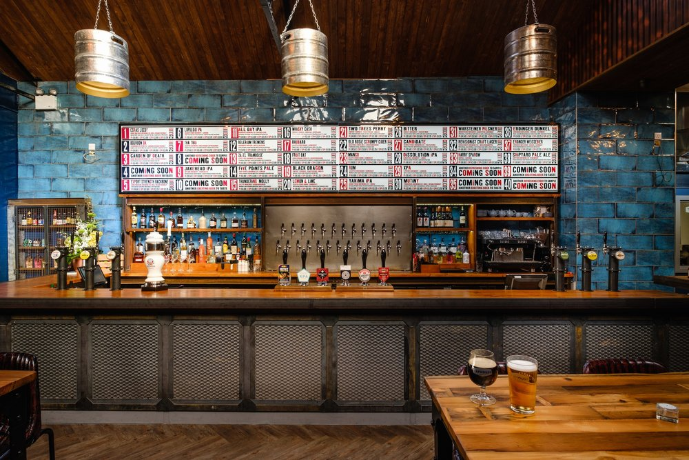 The new Taphouse Brewpub in Hull's Fruit Market combines a contemporary bar with a working brewery.