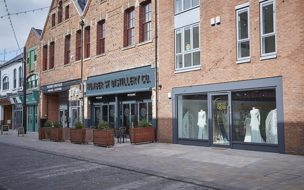 Ghost Orchid Bride is the latest business to open on Humber Street, in the heart of Hull's Fruit Market.