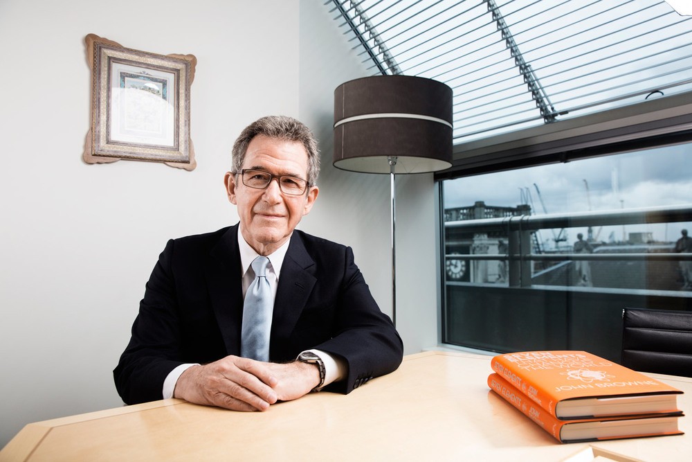 SATURDAY INTERVIEW - LORD BROWNE, who is publishing a new book.