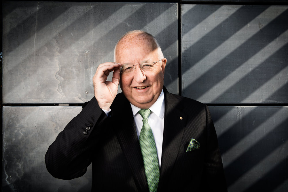 Sam Walsh, chief executive officer of Rio Tinto Group, poses for a photograph after announcing the company's earnings in London, U.K., on Thursday, Aug. 8, 2013. Rio Tinto Group, the world's second-largest mining company, said first-half profit dropped 18 percent as slowing economic growth in China sapped demand for raw materials, dragging down prices. Photographer: Matthew Lloyd/Bloomberg