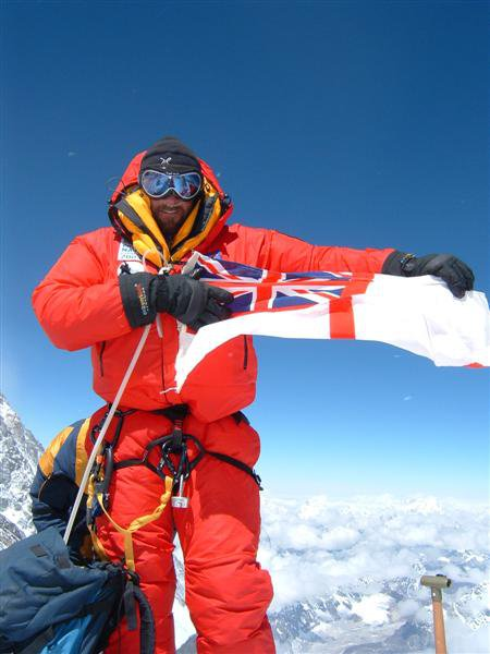 Dave on Mount Everest