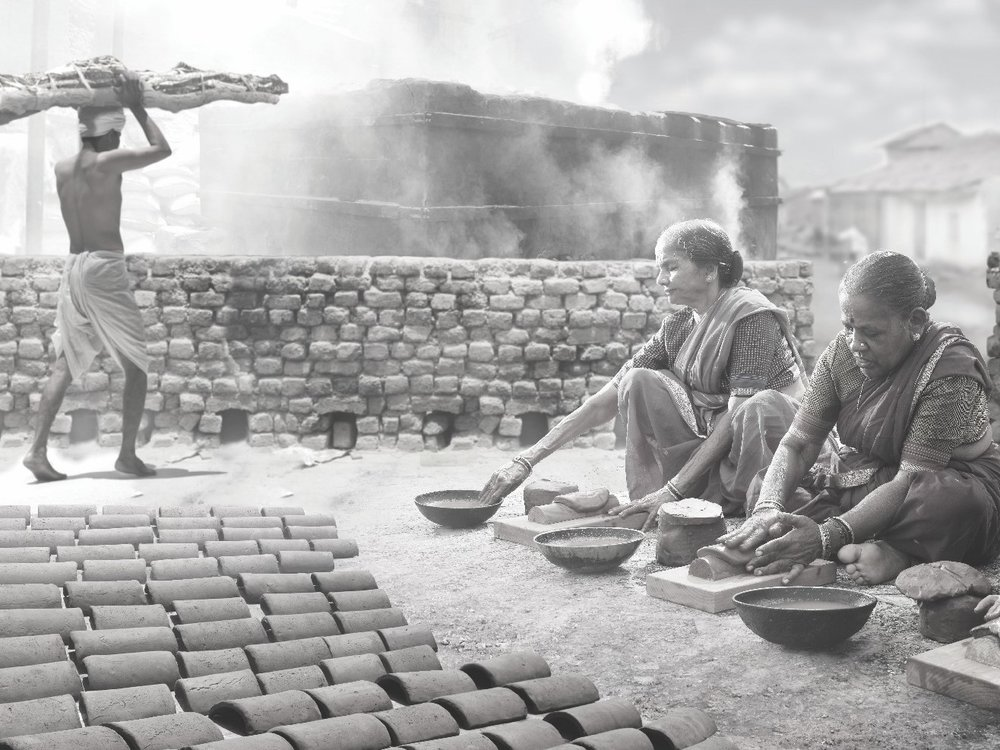 Dattajirao Chowgule started a tile production and trading business in 1916. The clay from Miraj in south Maharashtra was the ideal raw material.