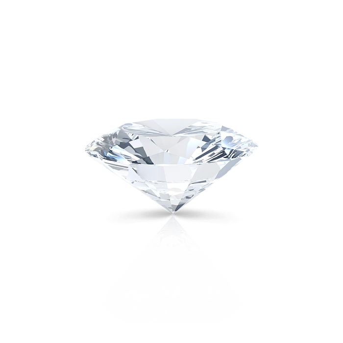 OVAL DIAMOND SIDE
