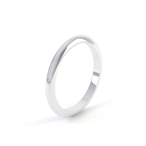 D-Shape Band. Plain Wedding Rings 39fc9de0c35e