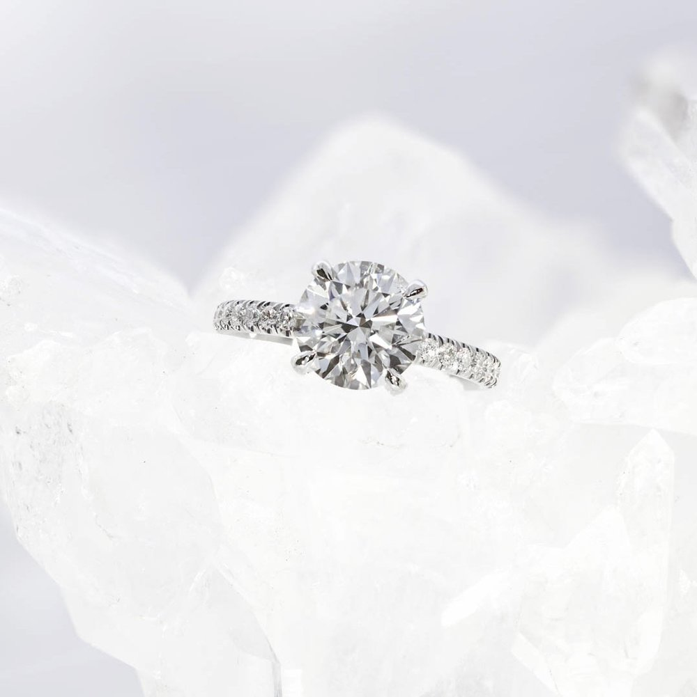 The  Bardot Scallop engagement ring , by Queensmith