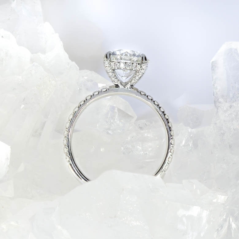 Christmas-Proposal-Ideas-Engagement-Ring-Pave-Diamond-Hatton-Garden-Jewellers-Queensmith
