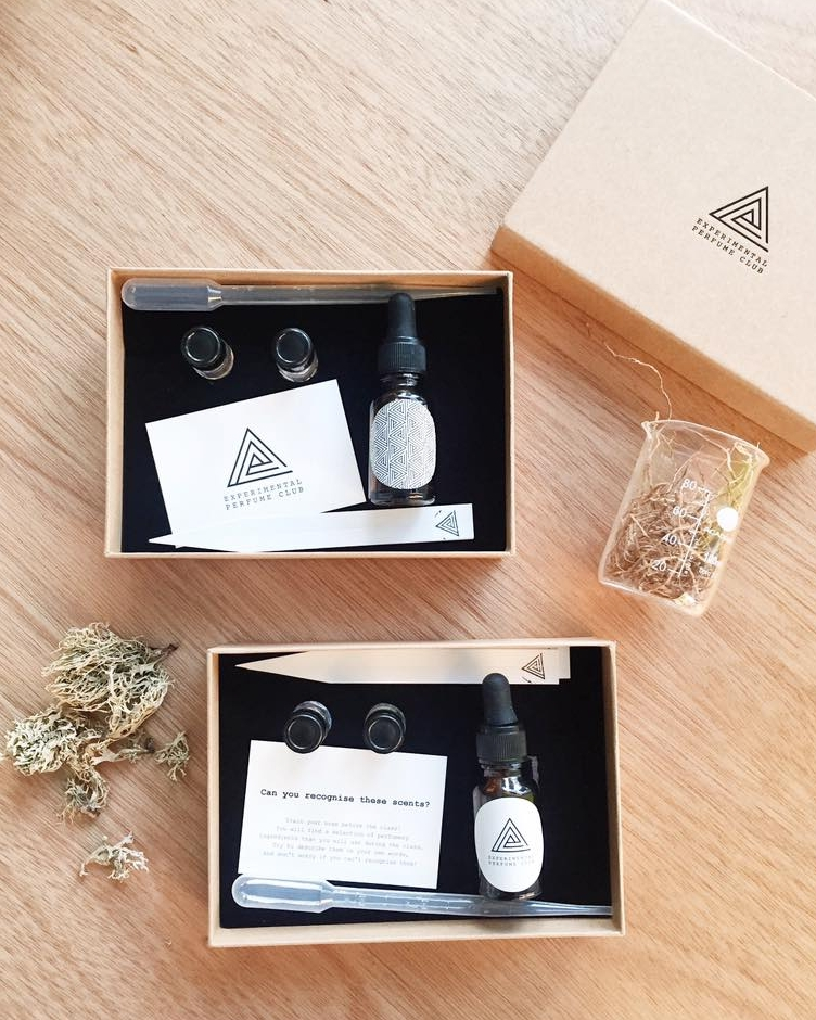 The minimalist packaging we love  @experimentalperfumeclub