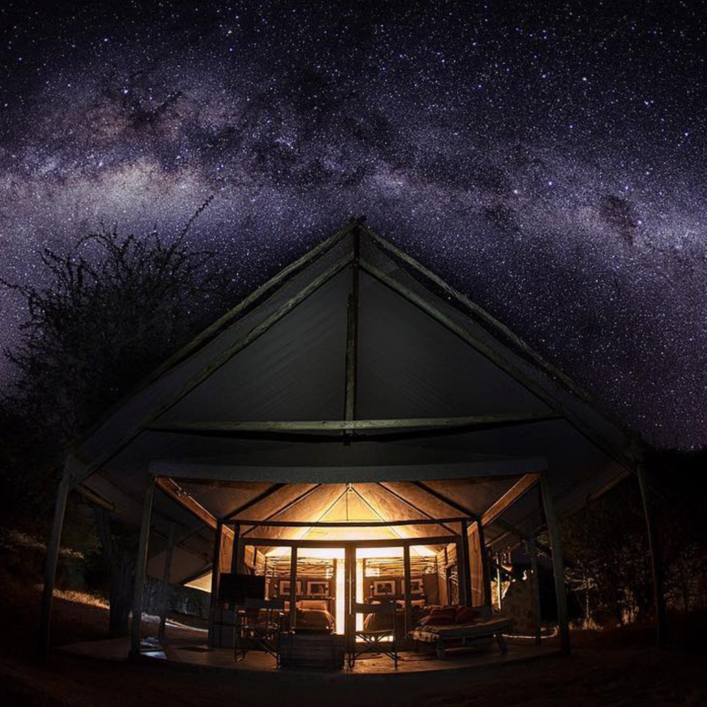 The famously starry sky of Botswana  @jimcodingtonphotography