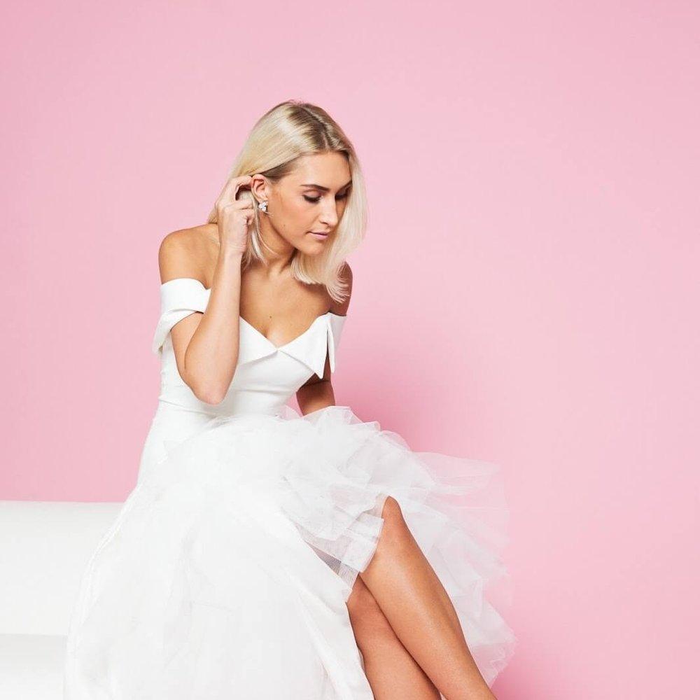 Bridal Editor founder, Sarah Tippett. Photography: Nick Illott