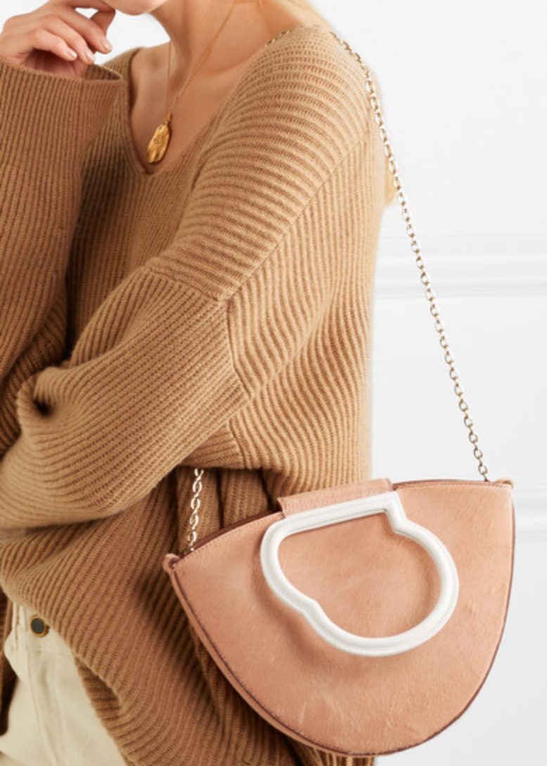 Our dream bag: The Lilou Cavallino/White, via net-a-porter.com