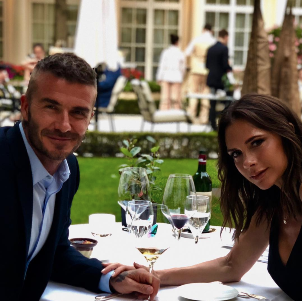 Posh & Becks recently celebrated their 19th annisversary together.  Instagram @victoriabeckham