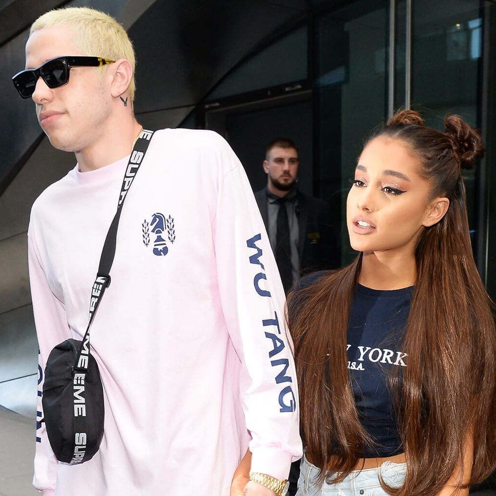 Ariana Grande and Pete Davidson are reported to have been dating for a month before their engagement