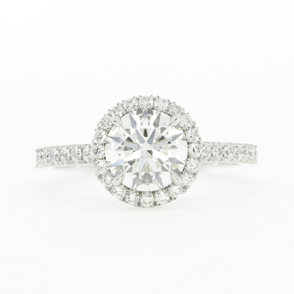 The  Classic Oberon  engagement ring