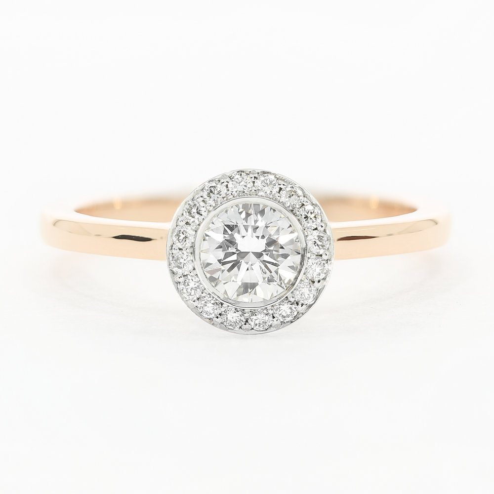 The  Faye  engagement ring