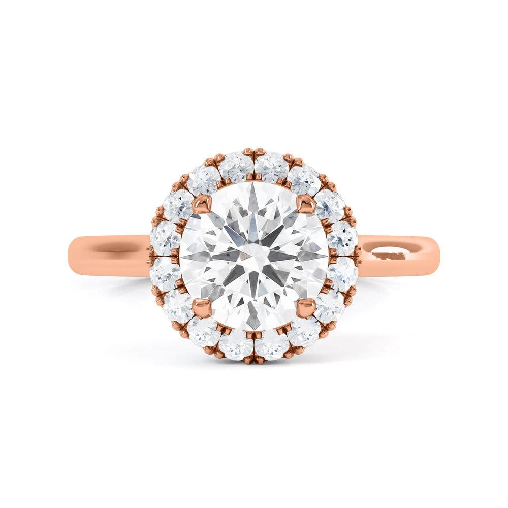 Halo Engagement Rings London Hatton Garden Jewellers