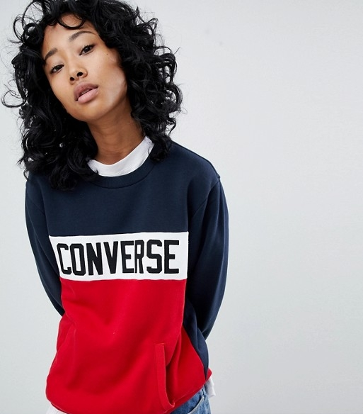 Converse Colorblock Sweatshirt | £33.50