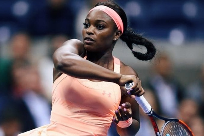 Sloane Stephens in the US Open 2017 final