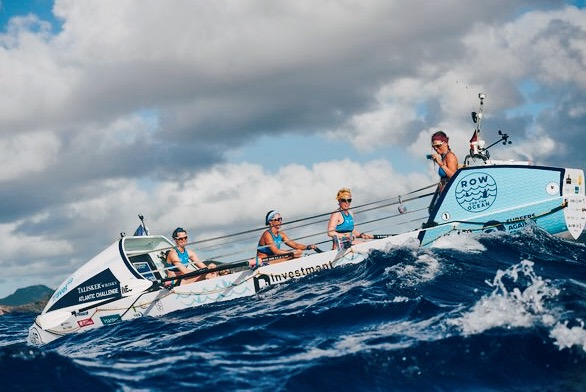 The first all female four in the Talisker Whisky Atlantic Challenge. Img: Ben Duffy